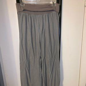 Old Navy linen wide leg pants